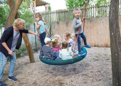 Kindergarten Rotenberg Aussenbereich
